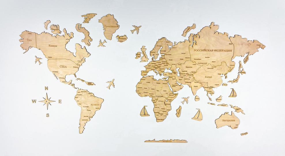 Несоответствие Карты Мира