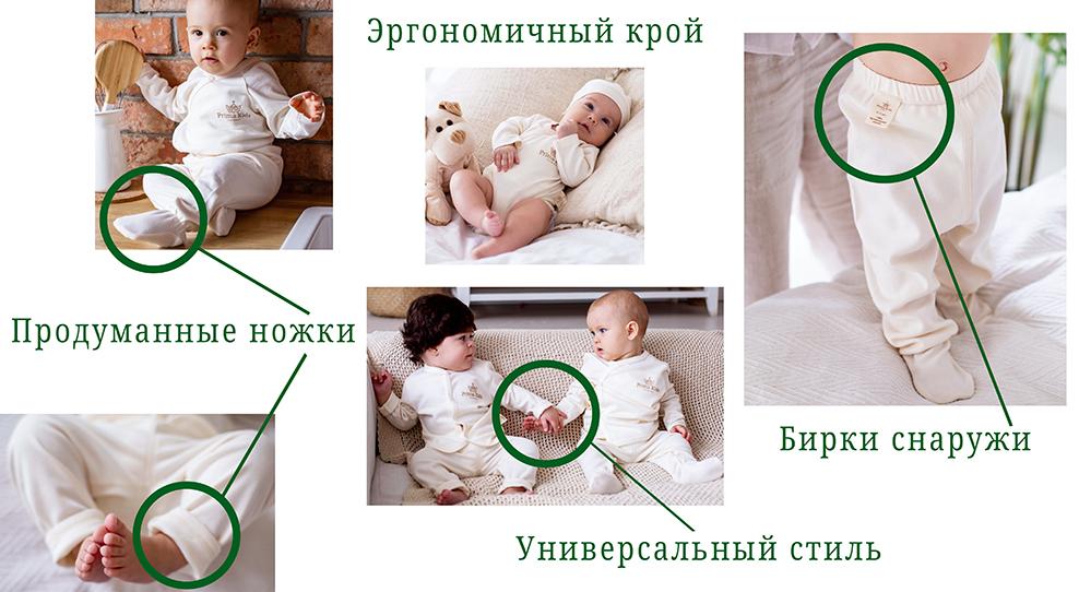 Преимущества одежды Prima Kids